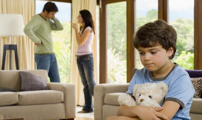 права мужа на детей при разводе меня такое